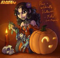 Have a Witchcrafty Halloween by falingard