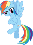 Rainbow Dash - Gotta Be Kidding Me!!! by MysteriousKaos