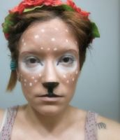 Fawn make-up by therealdeathnote