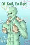 Handsome Squidward Tentacles by Usagi-Star