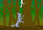 Chased you up a tree by Wolfmink