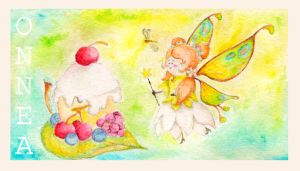 Fairy Birthday Card by Coccis