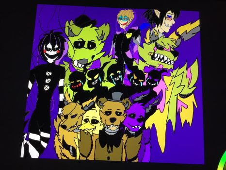 FEAR THE FIVE NIGHTS AT FREDDIES full pic by Victor82955
