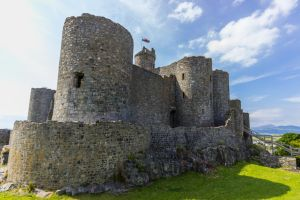 Visiting Harlech Castle by CyclicalCore