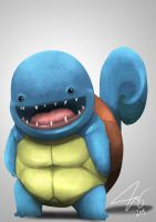 Squirtle by chuckie-chan