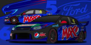 2014 FPR Falcon V8 Supercar concept by NSGD by nathansimpson