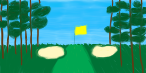A Perfect Golf Hole by chaosisters147