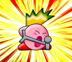 Kirby Rocker by Phoenix-Fighter