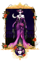 OL: Lily Masquerade Ball gown by Fortranica