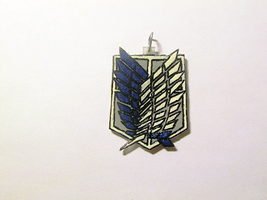 SnK Wings of Freedom Charm by Fiomay