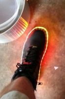 AUDRINO-CONTROLLED L.E.D. FIREWALKING BOOTS by JohnsonArms