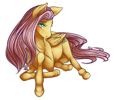 Fluttershy by Teallaquin