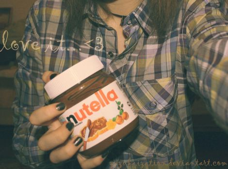 nutella by Zuzukaization