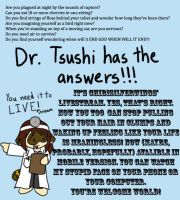 Dr. Tsushi LIVESTREAM by ChibiSilverWings