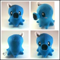 Cute sailer octopus plush (sale) by LRK-Creations