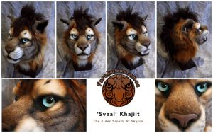 Khajiit Head by FarukuCostumes