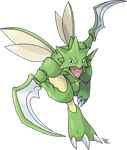 Scyther by Xous54