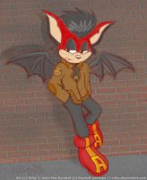 Aero the Alleybat by vilsy