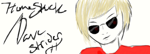 Save The World: Dave Strider by 2-2minutestomidnight