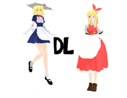 [NEW YEAR GIFT] Kana and Ellen DOWNLOAD! by Isabeladenicola