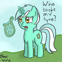 Sad Lyra by BloodwolveNL