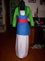 Mulan Costume WIP by Fruits-Punch-Samurai