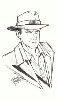 sketchy : Indiana Jones by KidNotorious
