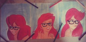 Ariel Hipster by alenwn