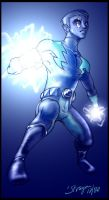 LoSH - Lightning Lad Strikes by straya