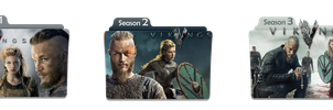 Vikings Tv Show Folder Icons by alican53
