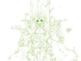 Sketch.6 Fairy by Weiss-gatto