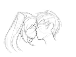 Akida and Kaien by dieliala