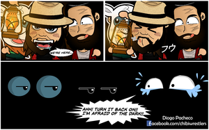 Wyatt Family - WWE Chibi Comic Strip by kapaeme
