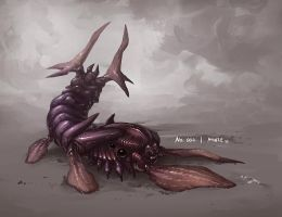 Monster No. 004 by Onehundred-Monsters