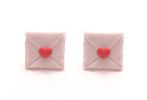 Miniature loveletters handmade out polymer by MiniSweetx