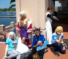Epic Yu-Gi-Oh Group by stinkulousreddous