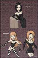 New OC's: Angela and Alexandra by MySweetQueen