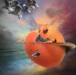 James and the giant peach by RazorxBladexPhotos