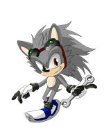 Spark the (Super Genius) Hedgehog by X-A-K