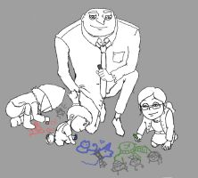 Day 17_30 Family Moment by TheFishAndTheBird