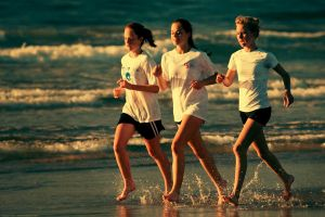 Running Girls by nelsonpray