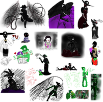 Carapace doodle dump by Forteh