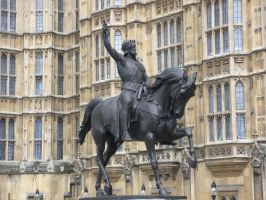 King Richard I Statue by rlkitterman