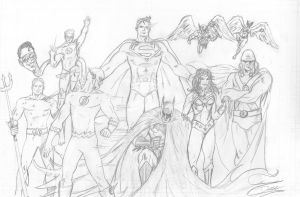 Justice League by theDANEtrain