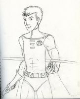 Robin Uncolored by DeeDraws