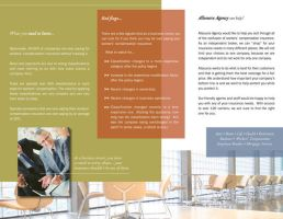 Insurance Agency Brochure Int by aCleverTitleGoesHere