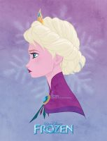 Disney's FROZEN - Queen Elsa by David Kawena by davidkawena