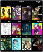 2014 Summary by BagToon