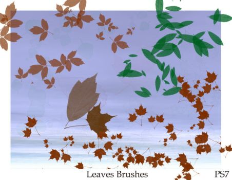 Fall of the leaves_brushes by ElizavetBrushes