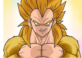 my altrations on vegeta ssj5 by tienchi